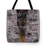The Watchful Wolf Tote Bag