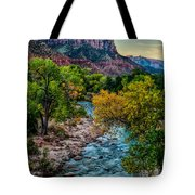 The Watchman At Sunrise Tote Bag