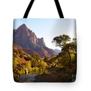 The Watchman Of Zion Tote Bag