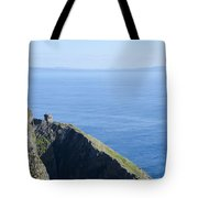 The Watchtower At Slieve League Tote Bag