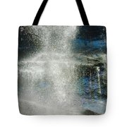 The Water Blue Tote Bag