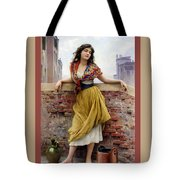 The Water Carrier Poster Tote Bag