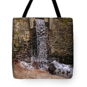 The Waterfall At Hagy's Mill Tote Bag