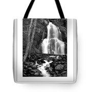 Moss Glen Falls Poster Tote Bag