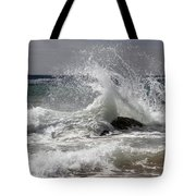 The Wave And The Rock Tote Bag
