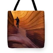 The Wave Beauty Of Sandstone 1 Tote Bag