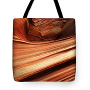 The Wave Layers Of Time Tote Bag