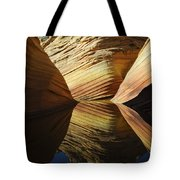 The Wave Reflected Beauty 2 Tote Bag