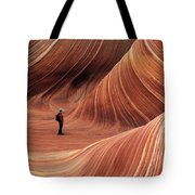 The Wave Seeking Enlightenment Tote Bag