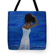 The Waves Of Beauty Tote Bag