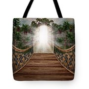 The Way And The Gate Tote Bag
