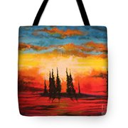 The Way Is Alway Opened Tote Bag