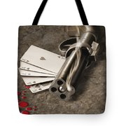 The Way Of The Gun Tote Bag