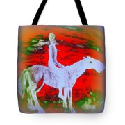 You Ride The Way You Ride But Where   Tote Bag