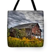 The Weathered Barn Tote Bag