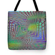 The Web Is Cast Tote Bag