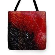 The Webs We Weave Tote Bag