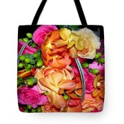 The Wedding Flowers Tote Bag