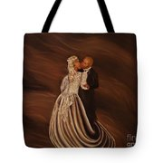 The Wedding Kiss Tote Bag