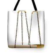 The Weight Of A Decision  Tote Bag