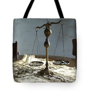 The Weight Of Money Tote Bag