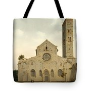 The West Facade Of The Church Of Saint Mary In Utrecht Tote Bag