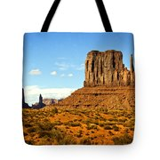 The West Mitten  Tote Bag