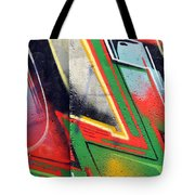 The West Side Of The Wall Tote Bag