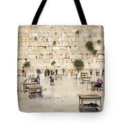 The Western Wall In Jerusalem Israel Tote Bag