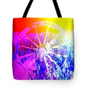 I Have A Wheel Of Colors But It's Standing Still  Tote Bag