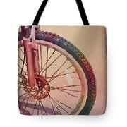 The Wheel In Color Tote Bag