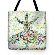 The Whirling Sufi Tote Bag