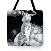 The White Deer Tote Bag