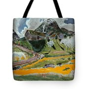 The White Horse In Spring  Tote Bag
