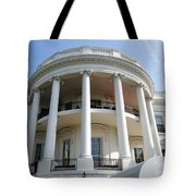 The White House South Portico Tote Bag