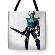 The White Knight... Tote Bag