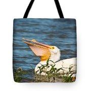 The White Pelican Tote Bag