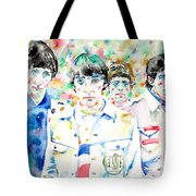 The Who - Watercolor Portrait Tote Bag