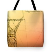 The Whole Body Fitly Joined Together  Tote Bag
