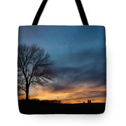 The Wild Blue Tote Bag