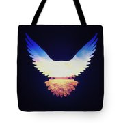 The Wild Wings Tote Bag