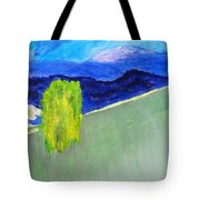 The Willow On The Hill #2 Tote Bag