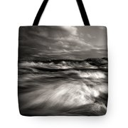 The Wind And The Sea Tote Bag by Bob Orsillo