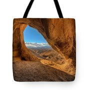 The Wind Caves Tote Bag