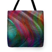 The Wind Pushes The Curtains Aside Tote Bag