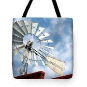 The Wind Wheel Tote Bag