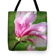 The Windblown Pink Magnolia - Flora - Tree - Spring - Garden Tote Bag