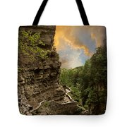 The Winding Trail Tote Bag by Jessica Jenney