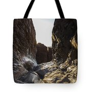 The Window At Sunset Tote Bag