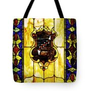 The Window At The Clark Chateau Tote Bag